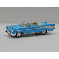 1:43 1957 Chevrolet Convertible (Light Blue)