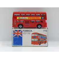 1:130 London Bus (Vernons) - Made in Japan