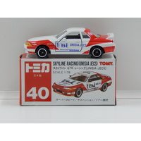1:59 Nissan Skyline Racing - Unisia Jecs with Decal Sheet - Made in Japan