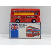 1:130 London Bus (Prudential for Pensions) - Made in Japan