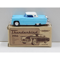 1:60 1956 Thunderbird (Blue with White Roof) - Made in Japan