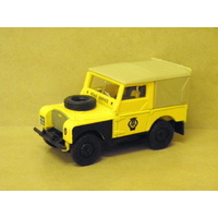 1:43 1949 LAND ROVER (YELLOW WITH CANOPY)
