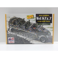 1:40 WWll German Sd.Kfz.7 8 Ton Semi-Track