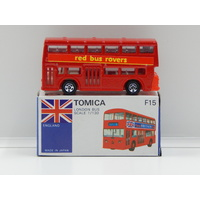 1:130 London Bus (Red Bus Rovers) - Made in Japan