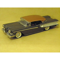 1:43 1958 EDSEL CITATION 2 DOOR HARDTOP (GRAPHITE METALLIC)