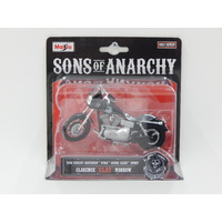 "1:18 2008 Harley-Davidson Dyna Super Glide Sport - Clarence ""Clay"" Morrow - Son's of Anarchy"