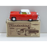 1:60 1956 Thunderbird (Red with White Roof) - Made in Japan