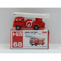 1:110 Snorkel Fire Truck - Made in China