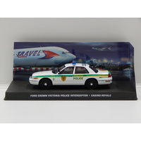 "1:43 Ford Crown Victoria Police Interceptor - James Bond ""Casino Royale"""