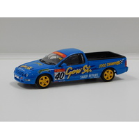 1:43 Ford AU XR8 Ute - Gow St. Ford Racing (W.Luff) #40