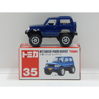 Mitsubishi Pajero Bigfoot (Blue) - Made in China