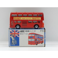 1:130 London Bus (Brandy Make Sure It's Martell) - Made in Japan