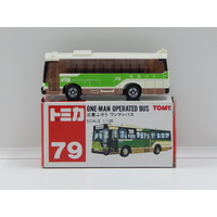 1:130 One-Man Operated Bus - Made in China
