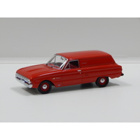 1:43 1962 Ford XL Falcon Deluxe Van (Waratah Red)