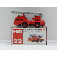 1:120 Nissan Diesel Afrial Ladder Fire Truck - Made in Japan