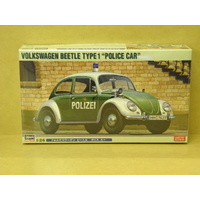 "1:24 VOLKSWAGEN BEETLE TYPE 1 ""POLICE CAR"""