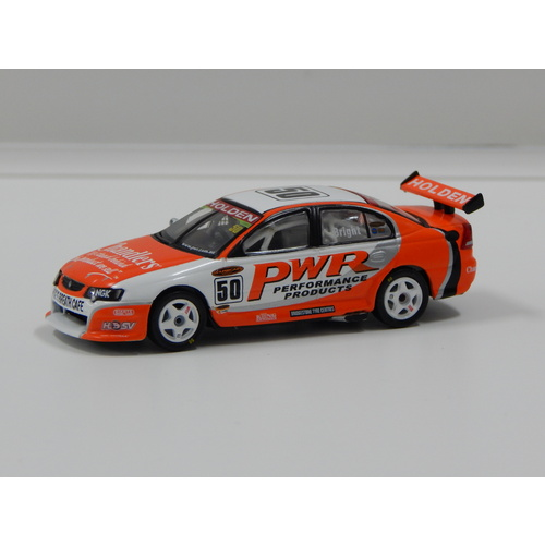 1:64 Holden VY Commodore - PWR (J.Bright) 2004 #50