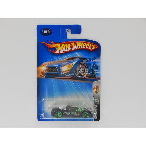 1:64 Zotic - 2004 Hot Wheels Long Card - Made in Thailand
