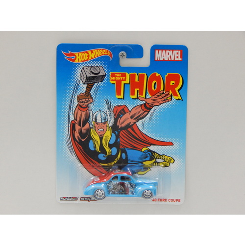 1:64 1940 Ford Coupe - The Mighty Thor - Made in Thailand