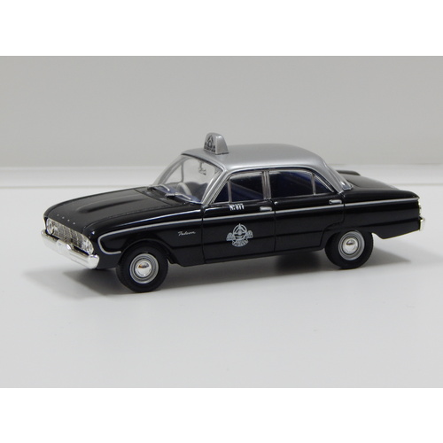 1:43 1960 Ford XK Falcon (Silver Top Melbourne Taxi)