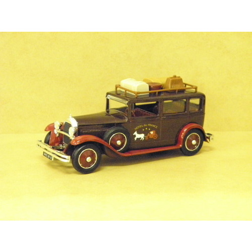 "1:43 1930 TALBOT ""TAXI HOTEL DE FRANCE"" BROWN)"