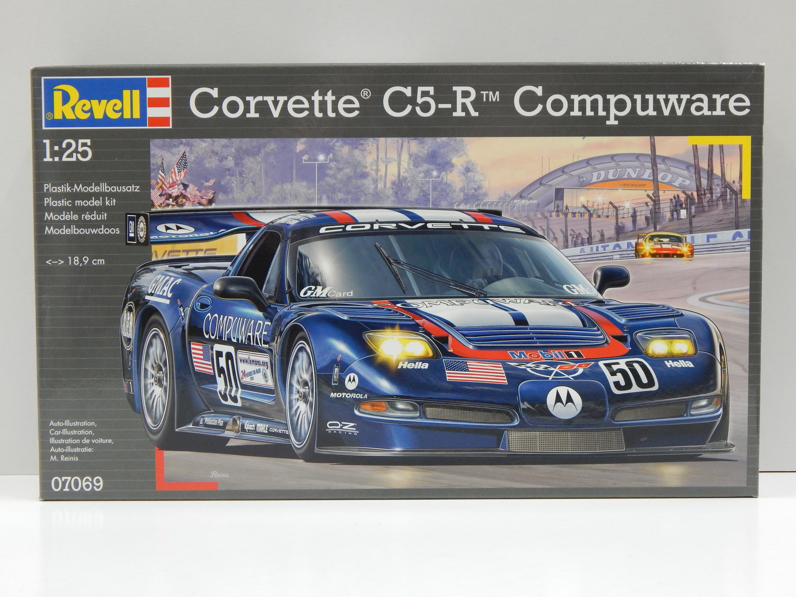 Revell 1//24/'78 Corvette Indy Pace Voiture # 07646