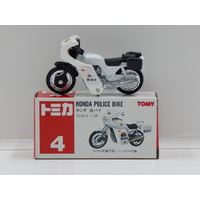 1:34 Honda Police Bike with Decal Sheet - Made in China