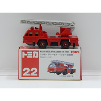 1:120 Nissan Diesel Afrial Ladder Fire Truck - Made in China