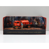 1:50 Late 1940's Chevrolet Blitz Wagon Fire Fighting Tanker