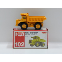 1:119 Terex 33-07 Dump (Yellow) - Made in Japan