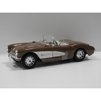 1:18 1957 Chevrolet Corvette (Brown)