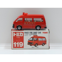 1:66 Toyota Hiace Fire Chief Car - Made in Japan