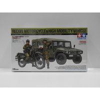 1:35 Recon. Motorcycle & High Mobility Vehicle