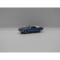 1:87 Chevrolet Camaro SS Convertible (Blue)