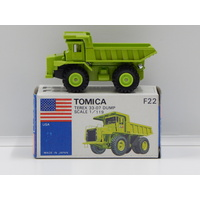 1:119 Terex 33-07 Dump (Green) - Made in Japan