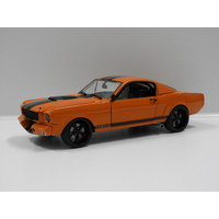 "1:18 1965 Ford Shelby GT350R ""Street Fighter"" (Orange with Black Stripes)"