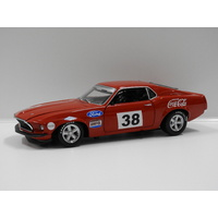 "1:18 1969 Ford Boss 302 Trans Am Mustang (A.Moffat) #38 ""The Boss' First Race"""