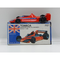 1:56 Brabham BT46 Alfa Romeo with Decal Sheet (Red) - Made in Japan