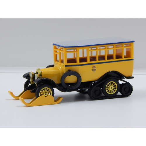 1:49 1923 Scania-Vabis Post-Bus (Yellow with Grey Roof)